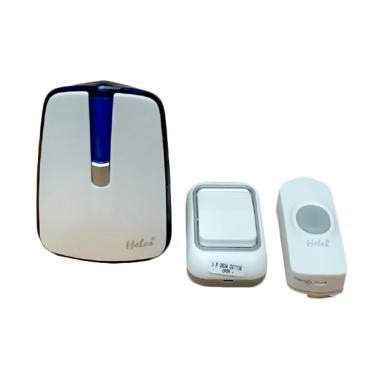 HELES 068K2 Bel Rumah Wireless 2 Tombol