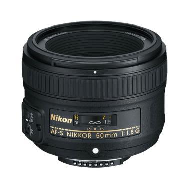 Nikon AF-S NIKKOR 50mm f/1.8G Lensa Kamera