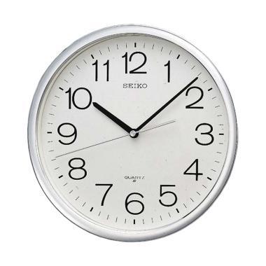 Seiko QXA014S Wall Clocks - Silver [32 cm]