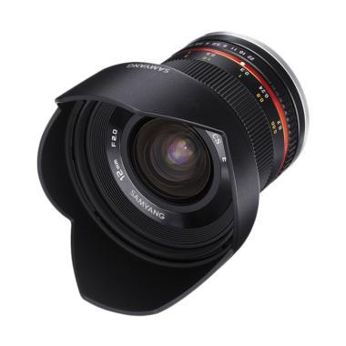 Samyang Lens 12mm F/2.0 For Fuji X - Black