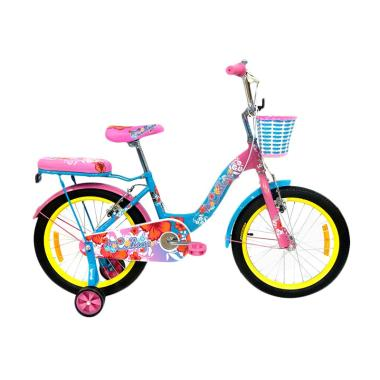 Wimcycle Collage Sepeda Anak [18 Inch]