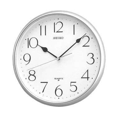 Seiko QXA001S Wall Clocks - Silver [28 cm]