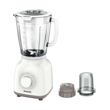 PHILIPS HR2106 Glass Blender - White