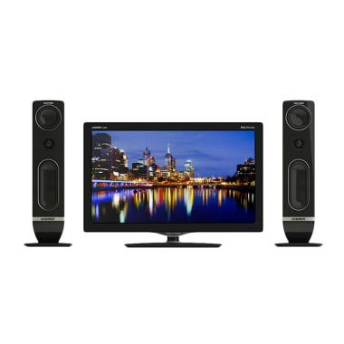 POLYTRON TV LED - Hitam [24 Inch]