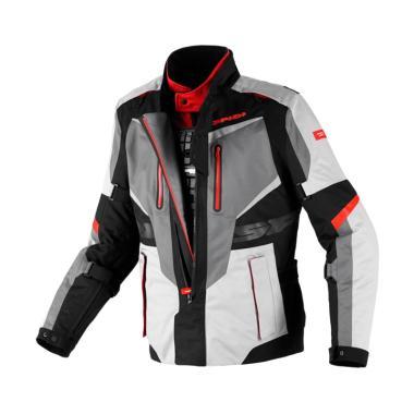Spidi X-Tour Jaket Motor - Black Red