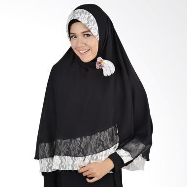 Atteena Hijab Khimar Isabel - Black