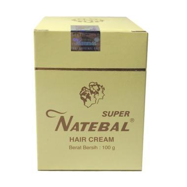 HARGA Natebal Hair Cream Penghitam Rambut Terpopuler