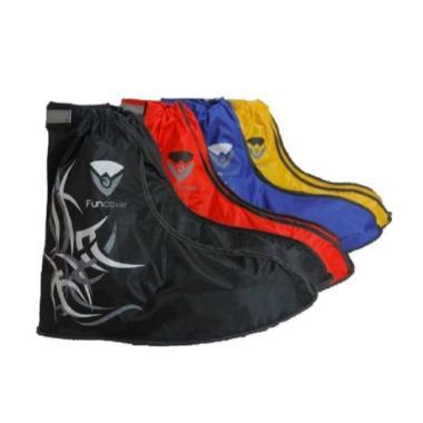 harga Cover Shoes Jas Sarung Sepatu Anti Air Funcover Original Tribal Series - S merah S hitam Blibli.com