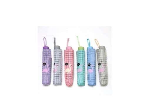 harga TABASA FLAMINGO TL 110 Fancy Umbrella Kotak. Payung Lipat Merah Muda Blibli.com
