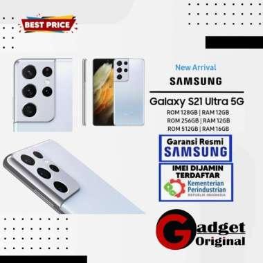 Samsung Galaxy S21 Ultra 5G [ 256GB/12GB ] Garansi Resmi Phantom Silver