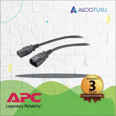 harga APC Power Cord, C13 to C14, 2.5m   AP9870 Blibli.com