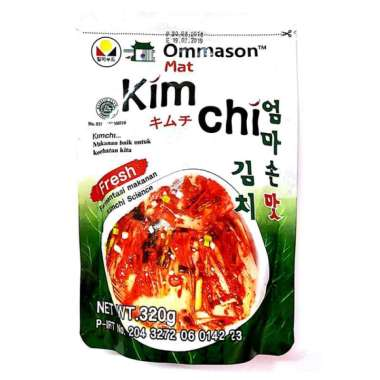 harga Ommason Ma'At Kimchi 320 Gr Blibli.com
