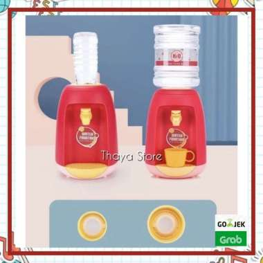 harga Mainan mini dispenser anak - mainan montessori anak - water dispenser 003 Red Blibli.com