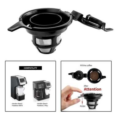 harga Washable Steel Coffee Filter Capsule Tea Coffee Maker BPA Free Mesh Filter Blibli.com