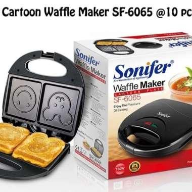 Waffle Maker Cartoon Plate SONIFER SF-6065/Cetakan Roti Model Philips