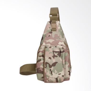 Army Crossbody Bag / Slingbag Tas Selempang Pria - Hijau Loreng