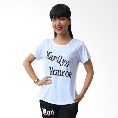 Aily SL019 Setelan Baju Tidur Wanita - Putih