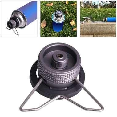 harga Outdoor Camping Gas Stove Burner Tank Adapter Connector Coupler Converter Black Blibli.com