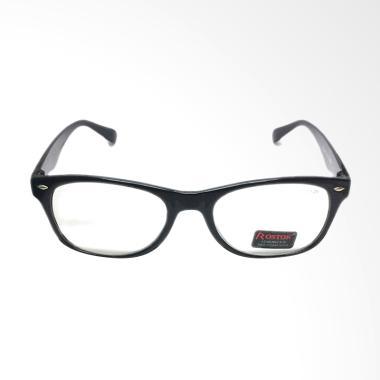 Rostok Lensa Baca Plus Kacamata - Hitam