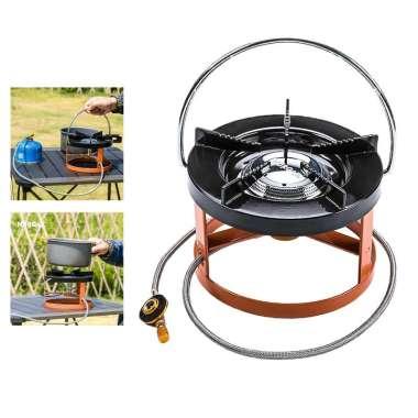 harga Ultralight Split Type Camp Stove Burner Furnace Gas LPG BBQ Cooker Equipment Black Blibli.com