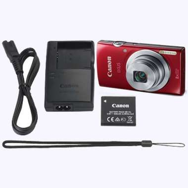 harga Diskon Canon Ixus 185 Kamera Digital Red Hitam Garansi Resmi Canon Terbaik Blibli.com