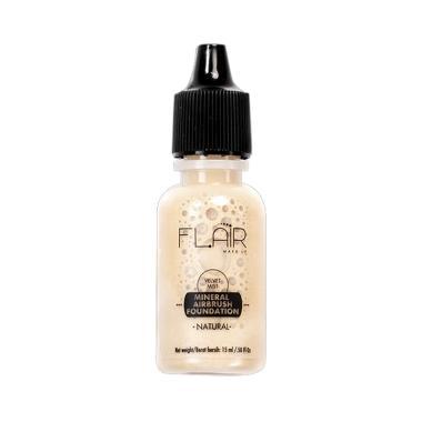 Flair Make Up Velvet Mist Mineral A ... oundation [17 mL] Natural