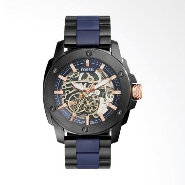 Fossil Jam Tangan Fashion Pria - Black Navy ME3133