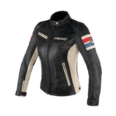 Dainese Lola D1 Lady Perforated Lea ... otor - Black Ice Red Blue
