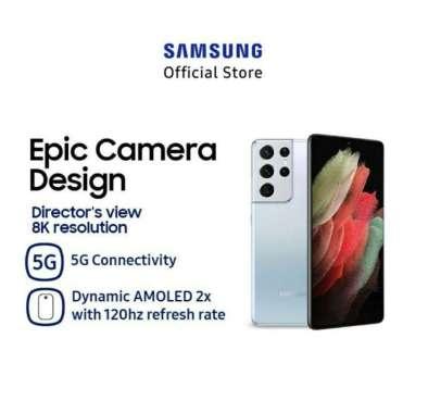Samsung Galaxy S21 Ultra 5G [512GB/ 16GB] Garansi Resmi SEIN Phantom Silver