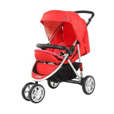 Cocolatte CL 481 Rexx Baby Stroller - Merah