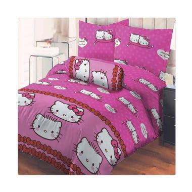 Lady Rose Kitty Daniel Set Sprei - Pink