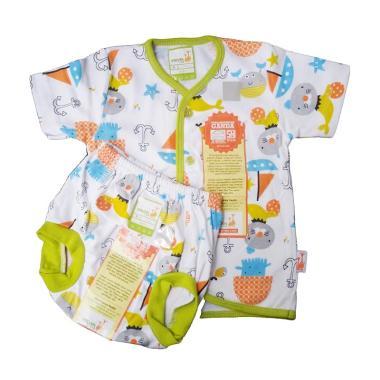 velvet junior_velvet junior setelan kancing tengah buntung celana pop motif sea lion hijau_full02 jual baju bayi velvet online harga menarik blibli com,Foto Pakaian Bayi