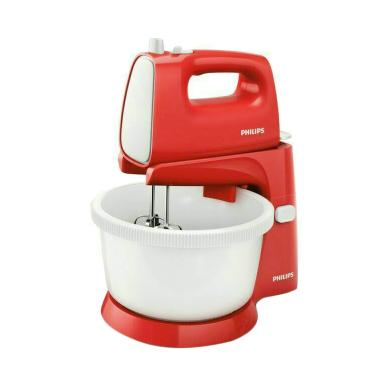Philips HR1559 Stand Mixer - Merah