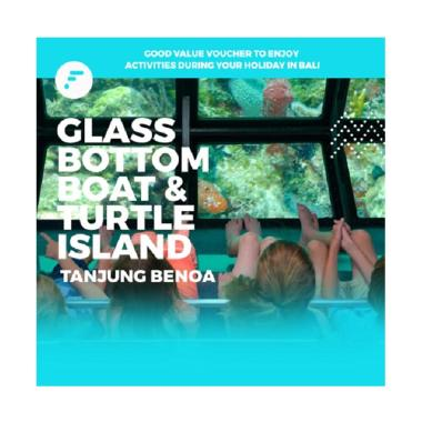 FitAccess Glass Bottom Boat and Turtle Island di Tanjung Benoa E-Voucher