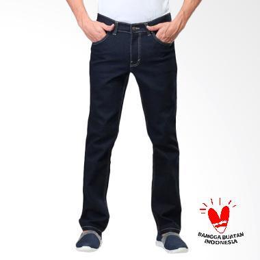 Daftar Harga Celana Jeans Denim Hitam Pria Sognoleather Terbaru