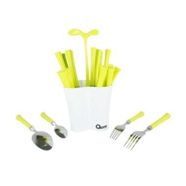 OXONE Cutlery Set With Pot OX-5000 - Hijau