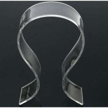 harga Stand Holder Display Headphone Headset Acrylic Universal - DA1502 - Blibli.com
