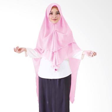 Milyarda Hijab Khimar Azzahra Hijab Instan - Pink