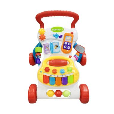 BabyElle 3501 8 in 1 Musical Activity Baby Walker - Red