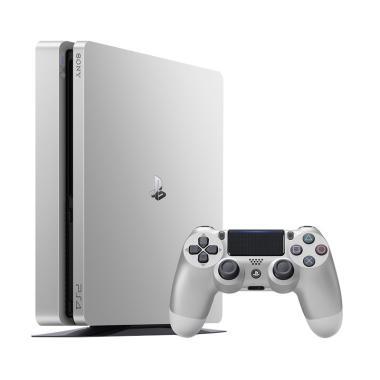 SONY CUH-2006A Slim Playstation 4 - Silver [500GB/ Limited Edition]