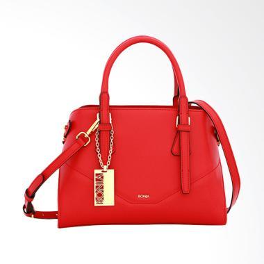 Bonia Aurora Dreamer Satchel Bags Wanita - Red