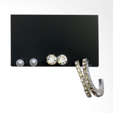 Mastindo Accessories MA-384892 Earring - Silver