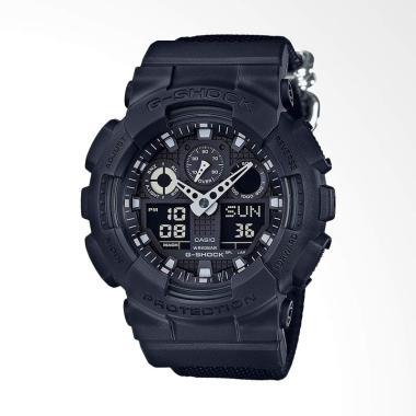 CASIO G-Shock Jam Tangan Pria GA-100BBN-1ADR