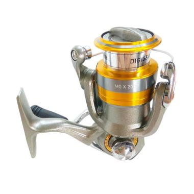 Daiwa MG X 2000 Reel Pancing [Ratio 5.3/ Drag 2 kg/ 4 Bearings]