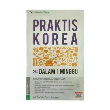 Kesaint Blanc Praktis Korea Dalam 1 ... Setia Lestari Buku Bahasa