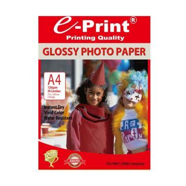 E-Print Glossy A4 Photo Paper 120Gsm [50 sheet]
