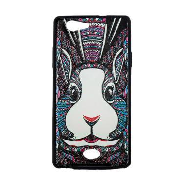 QCF Softacse Motif Rimba Rabbit Kel ... r Oppo A31T / A31 / Neo 5