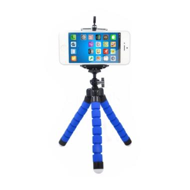 BabyTalk Tripod Flexible Octopus Br ... i Camera Handphone - Blue