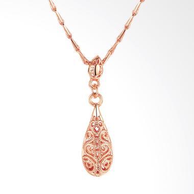 Bella & Co LKN18KRGPN750 Necklace Kalung Lapis Silver Aksesoris Wanita