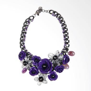 Jack 16 Necklace Aksesoris Wanita - Purple